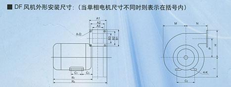 DF系列低噪声风机(图2)