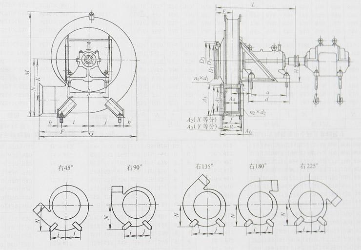 9-19离心通风机(图11)